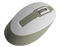 Мышь беспроводная Flyper Deluxe FDS-06 White-Gray USB подарок
