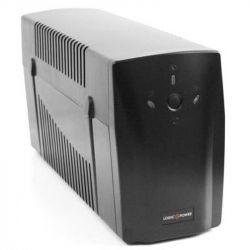 ИБП LogicPower U650VA-P,Lin.int.,AVR, 2 x евро, USB
