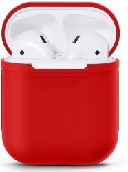 Чехол Nomi для наушников Apple AirPods Red (348528)