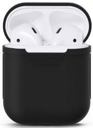 Чехол Nomi для наушников Apple AirPods Black (348525)