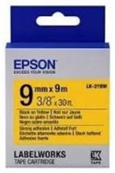 Лента Epson LK3YBW Strong Black/Yellow 9mm/9m (C53S653005)