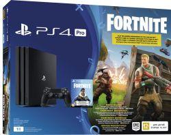 Sony Playstation 4 1TB Pro + игра Fortnite