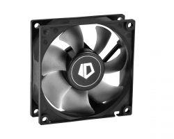 Вентилятор ID-Cooling NO-8025-SD,80x80x25мм, 3-pin, черный