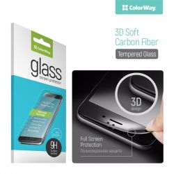 Защитное стекло для Meizu M5S, ColorWay, 0.33 мм, 2,5D, 3D Black (CW-GSSCMM5S3D-BK)