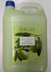 Жидкое мыло Gallus c экстрактом оливки,  5 л (Германия)