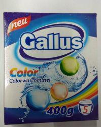 Стиральный порошок Gallus Color, 400 г (Германия)
