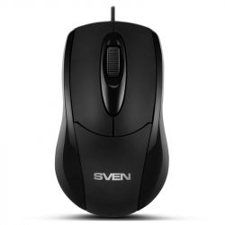 Мышь Sven RX-110 черная PS/2 UAH