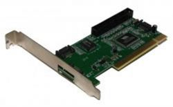 Контроллер PCI - SATA Atcom VIA 6421 chipset SATA(3port)+IDE (1port) PCI