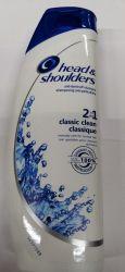Шампунь Head & Shoulders 2 in 1 Classic Clean Classique, 400 мл (Великобритания)