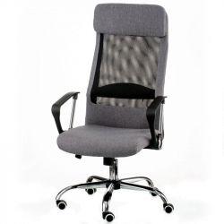 Кресло офисное Special4You Silba grey