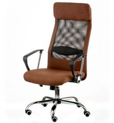 Кресло офисное Special4You Silba brown
