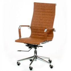 Кресло офисное Special4You Solano artleather light-brown