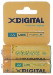 Батарейка X-Digital AA/LR06 BL 2 шт