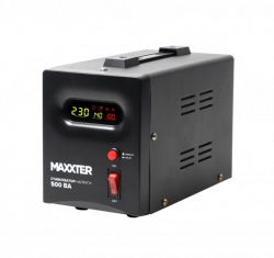 Стабилизатор Maxxter MX-AVR-S500-01 500VA