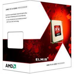 AMD X6 FX-6300 (3.5GHz 8MB 95W AM3+) Box (FD6300WMHKSBX) Black Edition
