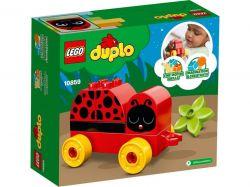 Конструктор LEGO Duplo Моя первая божья коровка (10859)