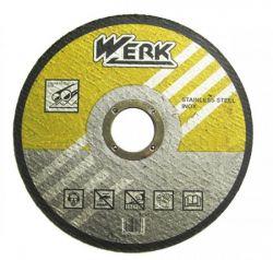 Круг отрезной по металлу Werk 125х1х22.2мм (WE201104/4131706)