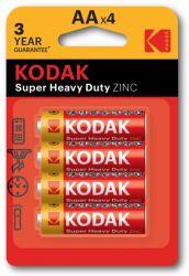 Батарейка Kodak Super Heavy Duty AA/LR06 BL 4шт