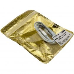 Кабель USB - Lightning 1м белый /Original Pac.