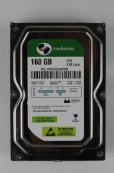 "HDD 3.5"" SATA  160GB Mediamax 5900rpm 8MB (WL160GSA859B) гар. 12 мес."