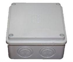 Коробка распределительная Courbi 100x100x50 серая