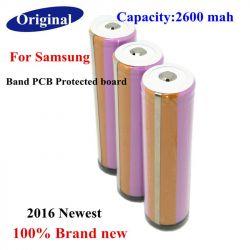 Аккумулятор Samsung Protected 18650 Li-Ion 2600 mAh