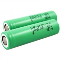 Аккумулятор Samsung 18650 Li-Ion 2500 mAh Green