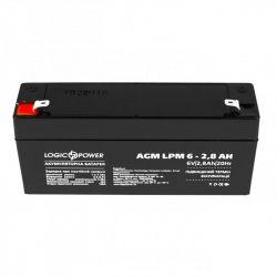 Аккумуляторная батарея LogicPower LPM 6V 2.8AH (LPM 6 - 2.8 AH) AGM