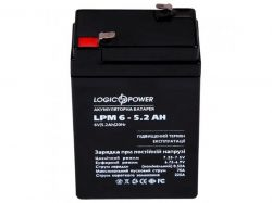 Аккумуляторная батарея LogicPower LPM 6V 5.2AH (LPM 6 - 5.2 AH) AGM