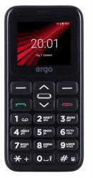 Мобильный телефон ERGO F186 Solace Dual Sim (черный)