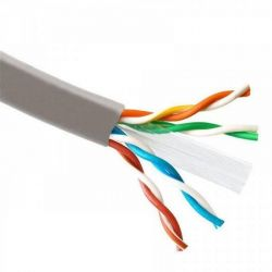 Кабель для внешней прокладки Atcom (88414) Standard UTP, 4х2х0.51 мм, медь, CAT6, 1Gb/s, СCA, 305м