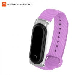 Ремешок Armorstandart Carbon Silicone Series для Xiaomi Mi Band 4/3 Purple (ARM55189)