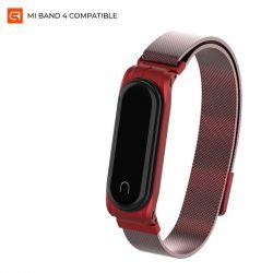 Ремешок Armorstandart Milanese Magnetic Band для Xiaomi Mi Band 4/3 Red (ARM55032)