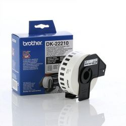 Картридж-бумажная лента Brother (DK22210) QL-1060N/QL-570/QL-800, 29мм х 30.48м