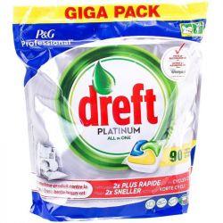 Капсулы для посудомоечных машин Dreft Platinum All in One, 90 шт (Италия) - Картинка 1