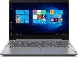 "Ноутбук 15"" Lenovo IdeaPad V15-IGL (82C30027RA) Iron Grey 15.6"" матовый LED FullHD 1920x1080, Intel Celeron N4020 1.1-2.8GHz, RAM 4Gb, SSD 128Gb, Intel UHD Graphics 600, noDVD, DOS"
