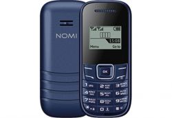 "Мобильный телефон Nomi i144m Blue, 2 Sim, 1.44"" (98x68) TN, microSD (max 32Gb), BT, FM, Li-Ion 600mAh"