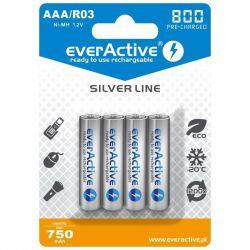 Аккумулятор AAA, 800 mAh, everActive, 4 шт, 1.2V, Blister (EVHRL03-800))