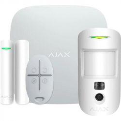 Комплект охранной сигнализации Ajax StarterKit Cam White (16583.42.WH1)