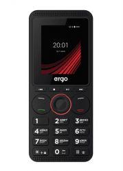 "Мобильный телефон Ergo F188 Play Black, 2 Mini-Sim, 1.77"" (160x120), microSD (max 8Gb), BT, FM, Cam 0.3Mp, Li-Ion 1000mAh"