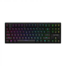 Клавиатура Hator Rockfall Evo TKL Optical ENG/UKR/RUS (HTK-630) Black USB - Картинка 1
