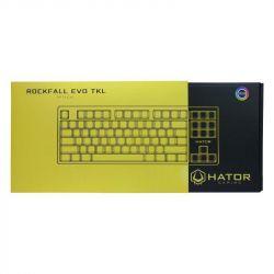 Клавиатура Hator Rockfall Evo TKL Optical ENG/UKR/RUS (HTK-630) Black USB - Картинка 8