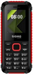 Sigma mobile X-style 18 Track Dual Sim Black/Red