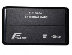 """Карман внешний 2.5"""" Frime (FHE20.25U30) USB 3.0 Black, Metal"""