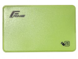 """Карман внешний 2.5"""" Frime (FHE14.25U20) USB 2.0 Green"""