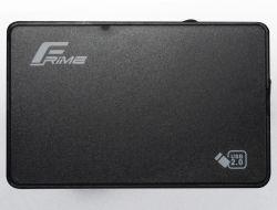 """Карман внешний 2.5"""" Frime (FHE10.25U20) USB 2.0 Black"""
