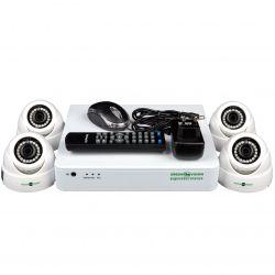 Комплект видеонаблюдения Green Vision GV-K-S12/04 1080P (5524)