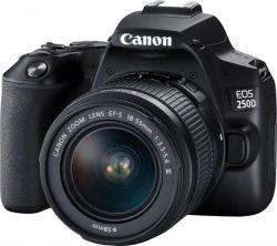 Фотоаппарат цифровой Canon EOS 250D + объектив Kit 18-55 DC III Black (3454C009) <укр> - Картинка 1