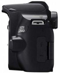 Фотоаппарат цифровой Canon EOS 250D + объектив Kit 18-55 DC III Black (3454C009) <укр> - Картинка 4