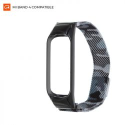 Ремешок Armorstandart Metal Milanese Magnetic для Xiaomi Mi Band 4/3 Camo White (ARM55548)